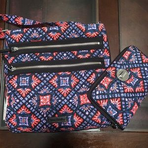 Vera Bradley Crossbody and Wallet